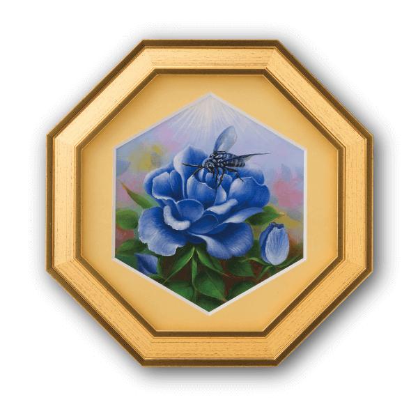 """『幸せの青い蜂ブルービー』の説明〜幸せを呼ぶ""""ブル"""