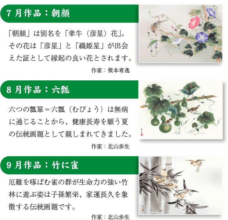 吉祥画十二撰揃え『福々爛漫』の説明〜