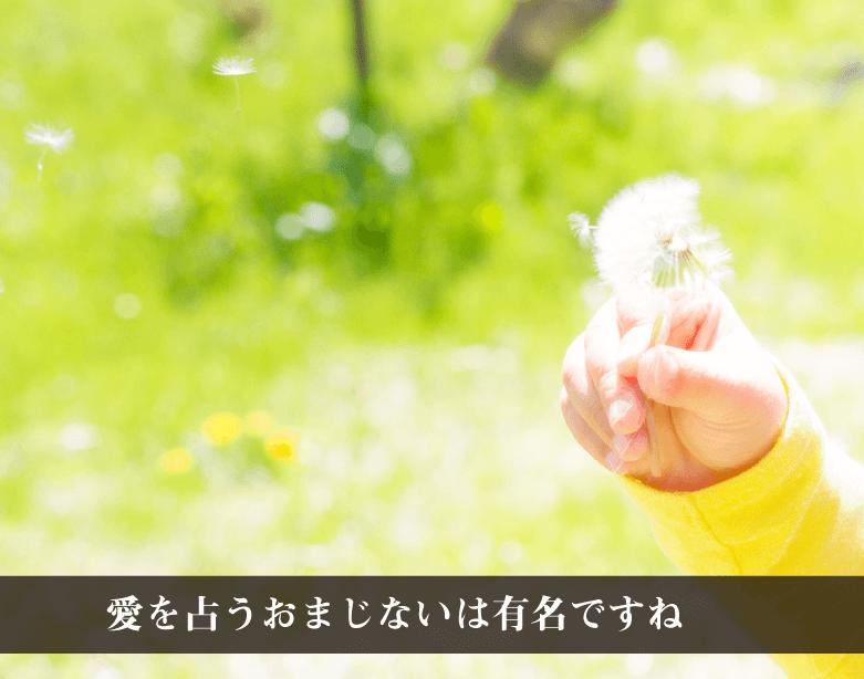 RIEの『幸せのたんぽぽ』の説明〜愛の神託を授ける