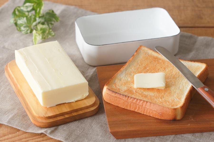 野田琺瑯 ホーロー バターケース