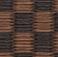 銀白 市松シリーズ 栗色×胡桃色
