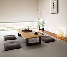 ダニ・ カビの発生率が低く、耐久性も高い「機械抄和紙」を畳表に使用した畳