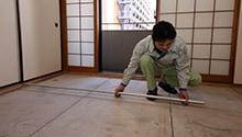 畳の敷き詰め方はさまざま