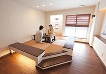 洋室にもさりげなくマッチするおしゃれな琉球畳