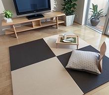 手軽に使用できる置き型の琉球畳