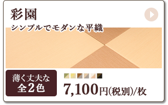 彩園7100円/枚