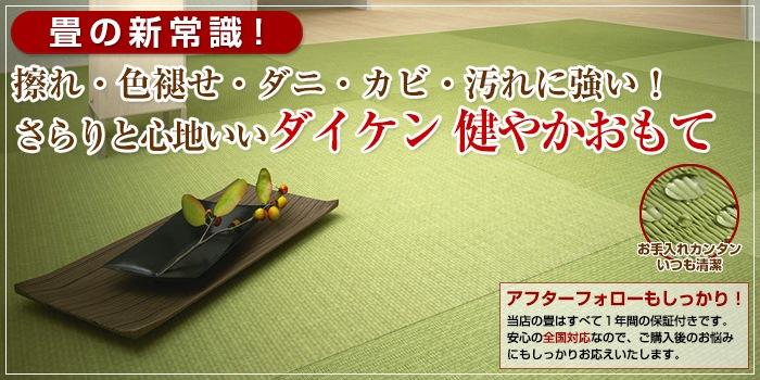 さらりと心地いいダイケン 健やかおもて|置き畳の大建 猫砂のダイケン ペットマットのDAIKEN