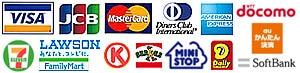 �谷�����ɡ�VISA,MasterCard,JCB,AMERICAN EXPRESS,DC��