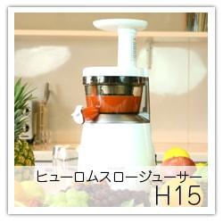 ヒューロムスロージューサーH15