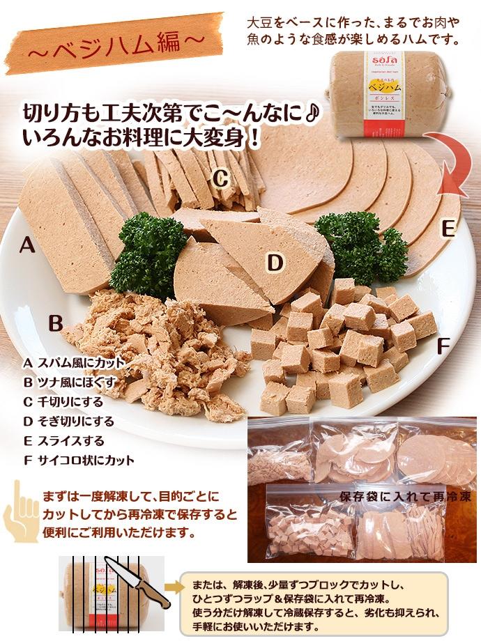 大豆の食品 ソーファ ベジハム