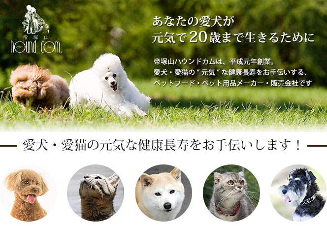 帝塚山ハウンドカムのコンセプト