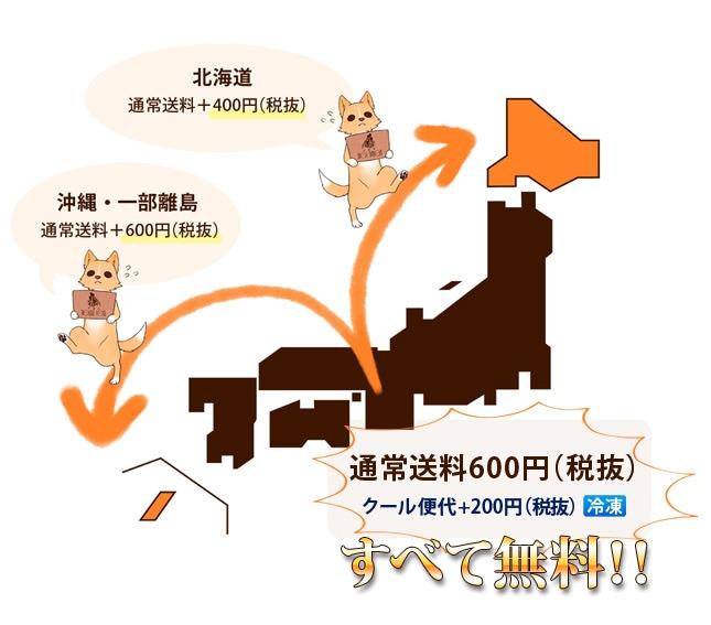 沖縄・北海道について