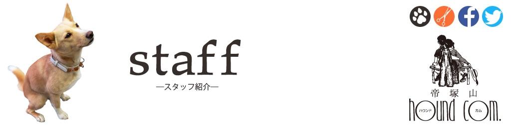 帝塚山ハウンドカムスタッフ紹介