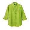 小紋ドビーシャツ7分袖[男女兼用][住商モンブラン製品] MC695