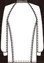 FO-9000EW バックスタイルイラスト