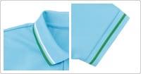 衿と袖のラインがカジュアルさを演出