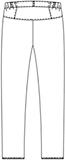 CIS810 レディスパンツバックスタイル