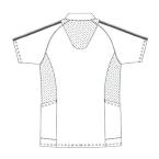 SCS731 アディダス男女兼用ポロシャツ半袖