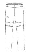 SCS760 アディダス男女兼用ストレッチパンツ