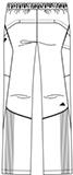 SMS301 アディダスメンズパンツバックスタイル