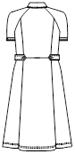 CA-2757 バックスタイルイラスト