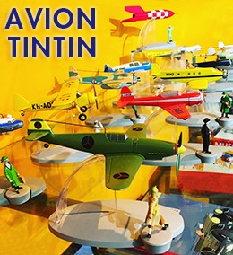 AVION TINTIN 飛行機