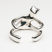 ileava jewelry/ハグベア リング