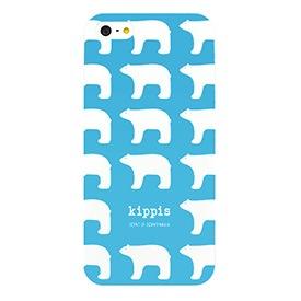 kippis×リンネルコラボiPhoneケース/白くま