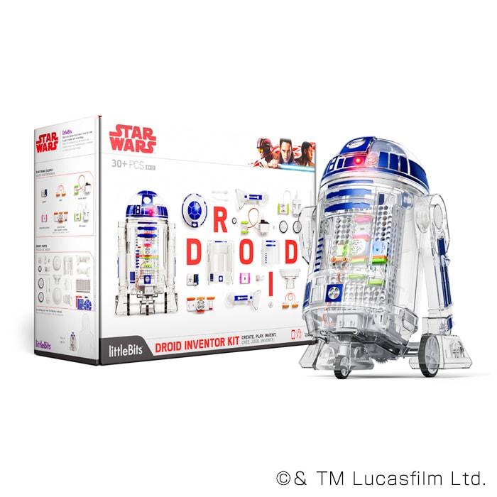 littleBits STAR WARS R2-D2 ドロイド・キット(組立てユニット) R2-D2