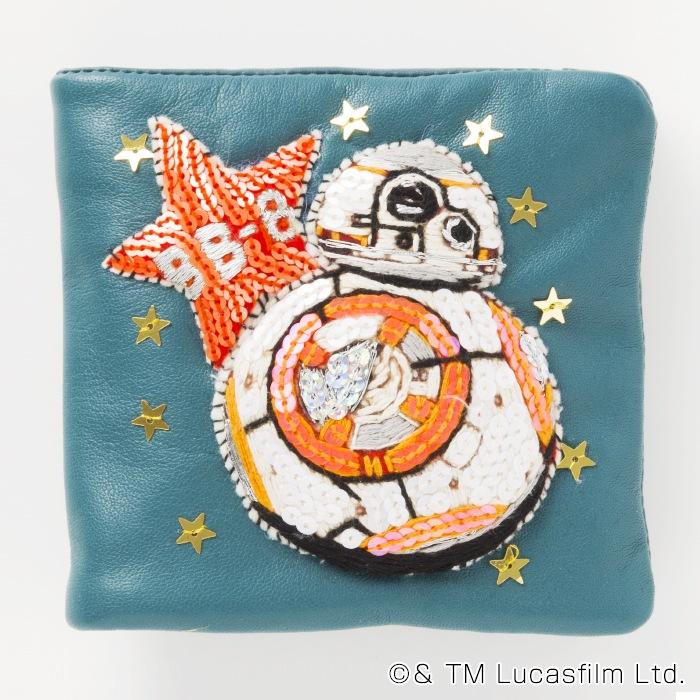 hug3×tamao/STARWARS キャラクター二つ折り財布