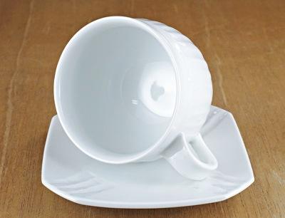 白磁コーヒーカップ