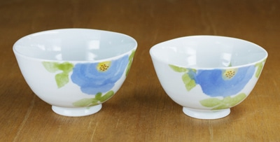 東窯 大東アリン 夫婦茶碗