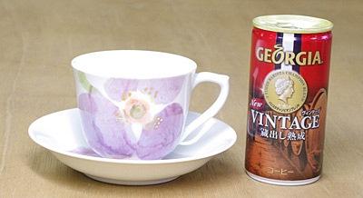 コーヒーカップ&ソーサー 大きさ比較
