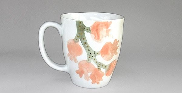 砥部焼 東窯 マグカップ