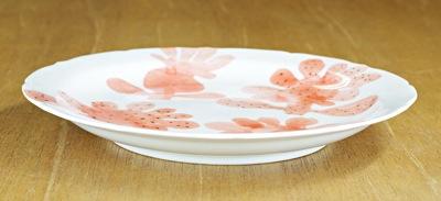 砥部焼き 6寸丸皿