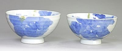 東窯 夫婦茶碗