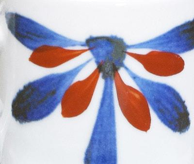 砥部焼き ごす赤菊