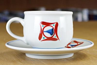 梅山窯 丸コーヒーカップ
