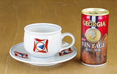 丸コーヒーカップ 大きさ比較