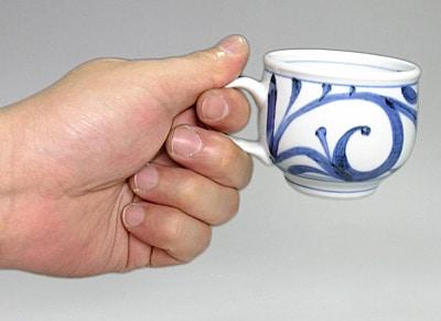 小さめのコーヒーカップ
