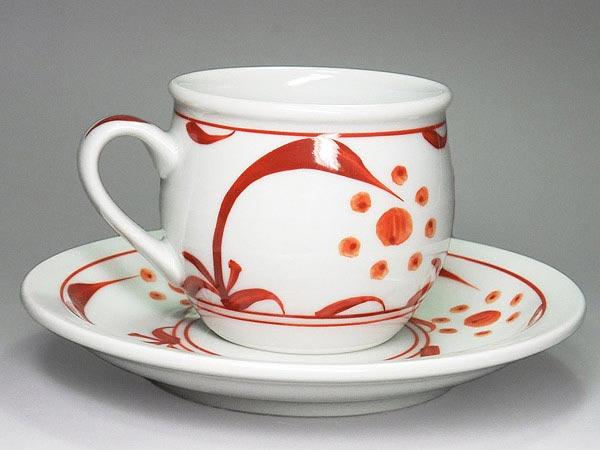 砥部焼 梅山窯 モーニングカップ