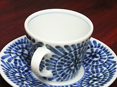 砥部焼 梅山窯 そばちょこ型コーヒー