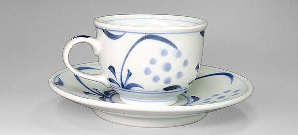 砥部焼 梅山窯 コーヒーカップ