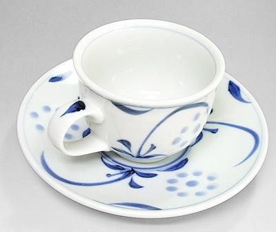 梅山窯 太陽文のコーヒーカップ