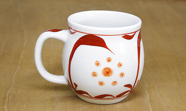 砥部焼き 樽マグカップ