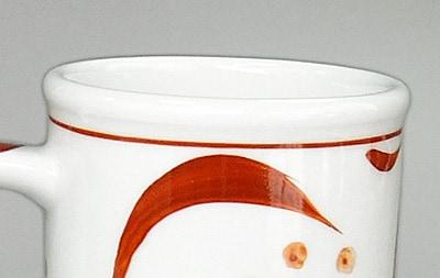 切立マグカップ 玉縁