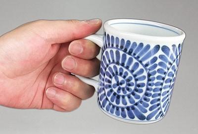持ちやすいマグカップ