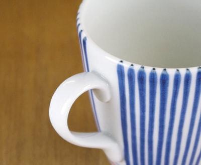 切立ミルクカップ 取っ手