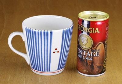 ミルクカップ 大きさ比較