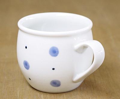 砥部焼き 丸ミルクカップ
